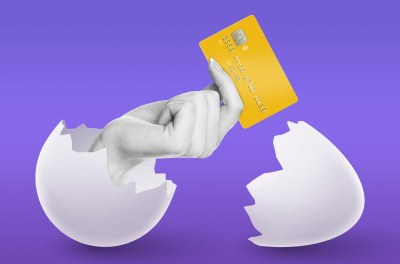 How does online card processing work?