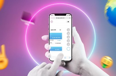xpate design concept. A simple drag-and-drop gesture takes care of everything